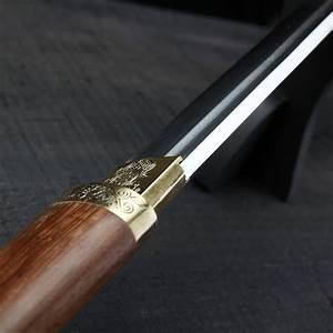 Handmade Japanese Katana Samurai Sword Carbon Steel Blade ...
