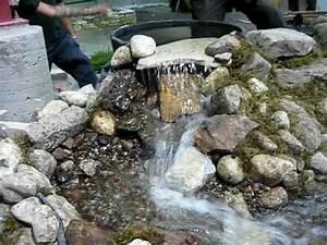 cours de bassin cascade centre de formation With amenagement jardin exterieur avec galets 6 bordure de jardin en pierre naturelle
