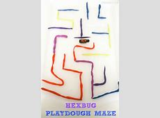 Hexbug Mazes with Playdough In The Playroom
