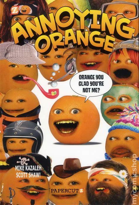 annoying orange hc  papercutz comic books
