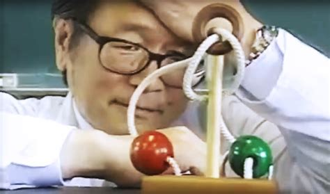 Undeniably The Hardest Ball Rope Ring Puzzle In Japan