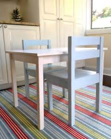 DIY American Girl Doll Table and Chairs