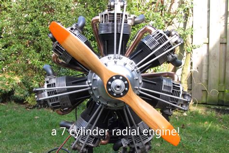 Radial Engine Constructed From Vw