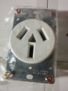 Range Stove Oven Outlet Receptacle White