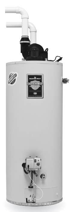 Bradford White Rg2pdv50h6n 50 Gallon Power Direct Vent