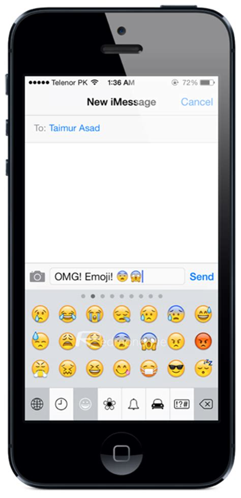 emoticons on your iphone cult of mac image gallery iphone emoji keyboard