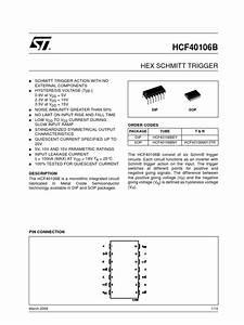 Cd40106be Datasheet