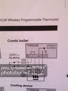 Can Anyone Help With Wiring A Wireless Thermostat
