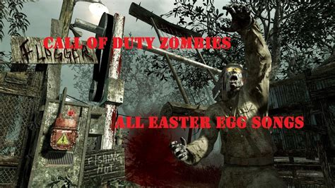 cod zombies songs easter egg