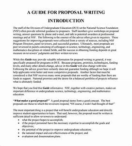 Writing Proposal Examples College Essay Consultant Proposal Writing