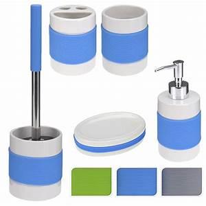 Badezimmer Set Seifenspender : badaccessoires badzubeh r set silikon wc b rste seifenspender badezimmer zubeh r ebay ~ Sanjose-hotels-ca.com Haus und Dekorationen