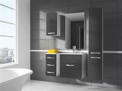 Bathroom Furniture Set Wall Hung Cabinets With Mm Sink