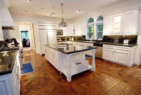 Wood Floor In Kitchen  Type And Model As Consideration