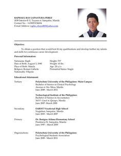 Simple Resume Format Sle For by Relieving Letter Format For Employee Free Hr