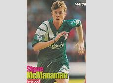 Liverpool career stats for Steve McManaman LFChistory