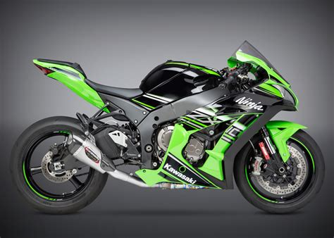 Modification Kawasaki Zx10 R by Yoshimura Alpha T Works Finish 3 4 Exhaust System 16 18