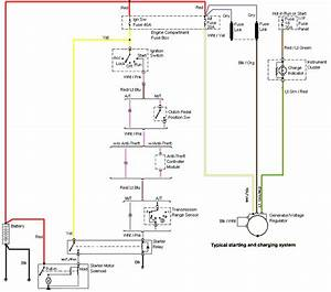 1994 Mustang Gt Alternator Wiring Diagram