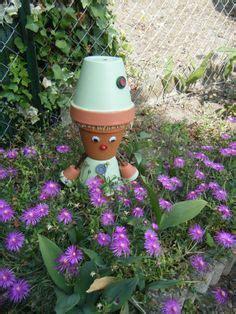 1000 images about personnages en pot de terre cuite on