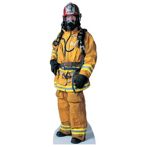 the cabinets advanced graphics firefighter size cardboard stand up