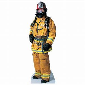Advanced Graphics Firefighter Life-Size Cardboard Stand-Up