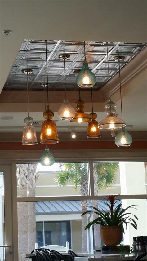 to replace that box light fixture in the kitchen