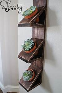 DIY Wall Planter with Succulents - Shanty 2 Chic