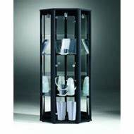 Vitrinenschrank Glas Metall : vitrine schwarz metall preisvergleich g nstige angebote bei ~ Frokenaadalensverden.com Haus und Dekorationen