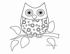 Free Owl Template Printable | Search Results | Calendar 2015