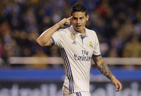 James rodriguez v yerry mina. James Rodriguez can make an early return to Real Madrid - TechnoSports