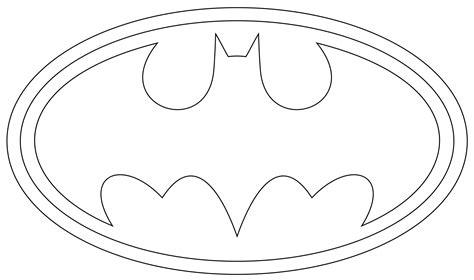 Batman Symbol Coloring Page Clipartsco