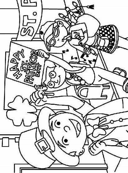 Parade Coloring Lucky Pages Crayola