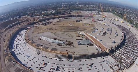 Apples Headquarters New Pictures by The Best View Yet Of Apple S New Spaceship Cus That S