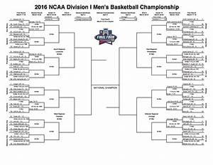 2016 NCAA Division I Men's Basketball Bracket – 3.17.16 ...