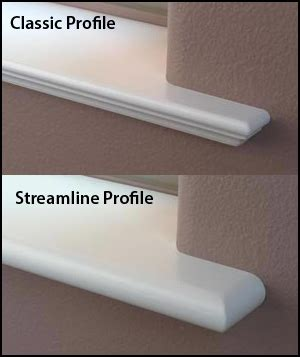 Window Sill Profiles by Purchase Sills