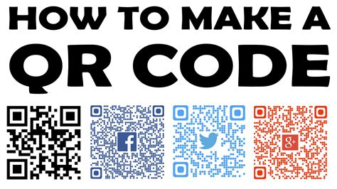 How To Create A Qr Code  [ Instructions 101] Youtube