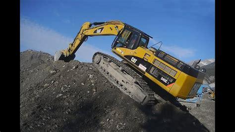 caterpillar   hydraulic excavator metier de lextreme youtube