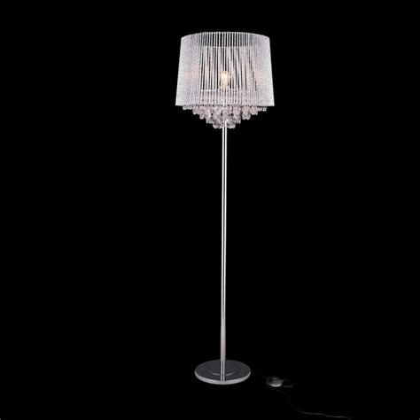 crystal floor standing l luxpro light crystal standing l standing light ebay