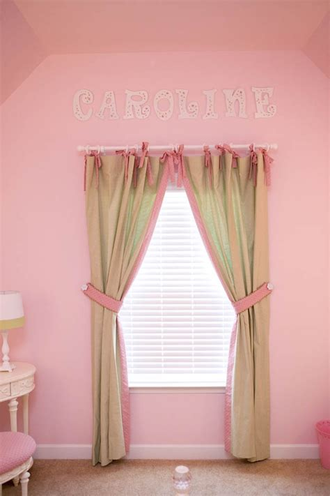 pink curtains for bedroom pink and green are sweet colors for s bedroom tab 16737