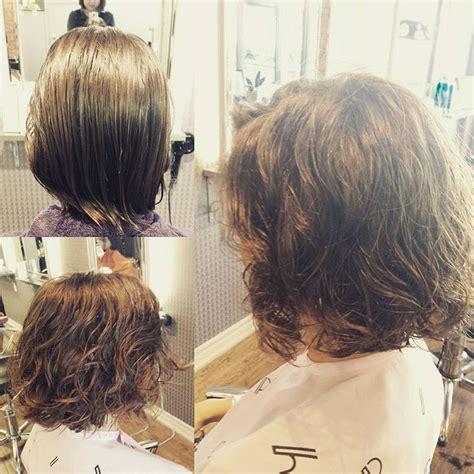 digital perm  works  short hair  hairstyles perms pinterest digital perm