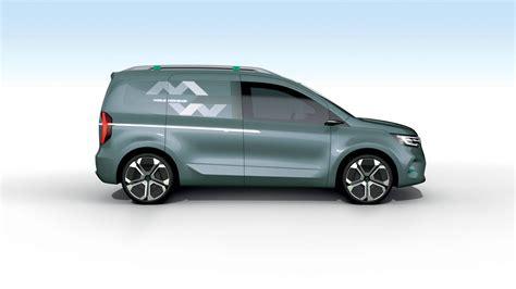 Renault Kangoo 2020 by New Renault Kangoo Z E Concept Previews 2020 Production
