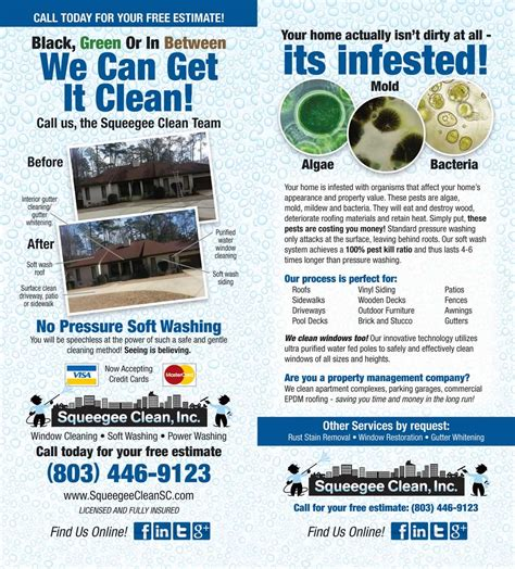 Boat Detailing Flyers by Soft Pressure Washing Deck Concrete Siding
