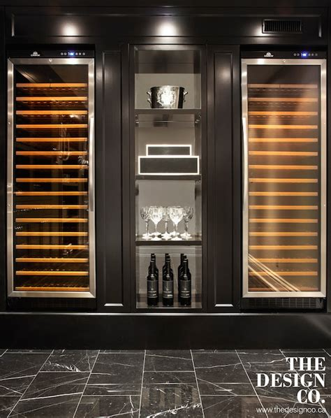 Side By Side Wine Fridges Design Ideas