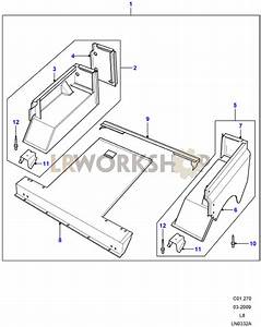 Rear Body Lower - 110 5 Door Station Wagon