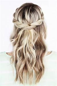 Coiffure Simple Femme : 7 best tresse cheveux long images on pinterest belles coiffures chignons et coiffures faciles ~ Melissatoandfro.com Idées de Décoration