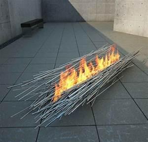 Feuerstelle im garten 36 prima designs for Feuerstelle garten mit pflanzkübel außen beton