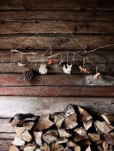 Objet Deco Bois Naturel : ambiance no l avec d coration naturelle pour la maison ~ Teatrodelosmanantiales.com Idées de Décoration