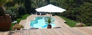 amenagement piscine bois hors sol dootdadoocom idees With terrasse en bois pour piscine hors sol 0 piscine hors sol bois rectangulaire 350x1550cm linea liner