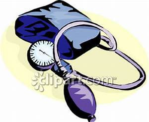 A Sphygmomanometer - Royalty Free Clipart Picture