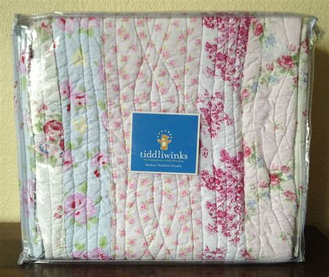 i am in with this crib bedding tiddliwinks cottage chic 4 pc crib set bumper quilt vintage