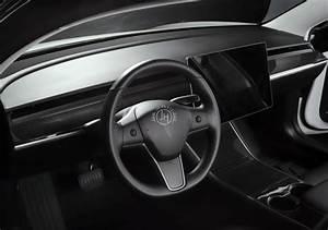 Carbon dashboard trim Tesla Model 3 - JHParts
